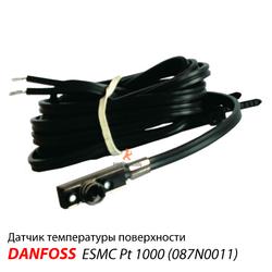 Danfoss ESM-Danfoss ESMC Датчик температуры поверхности для ECL Comfort (087N0011)Датчик температуры поверхности для ECL Comfort (087B1165)