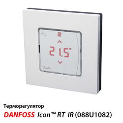 Danfoss Icon™ RT IR Беспроводной терморегулятор с инфракрасным датчиком (088U1082)