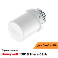 Термоголовка Honeywell T3019 Thera-6 DA (T3019DA)