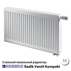 Стальной радиатор Korado Radik 11VK 300x500 333W (нижнее подключение)