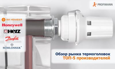 Обзор рынка термоголовок. ТОП-5 производителей