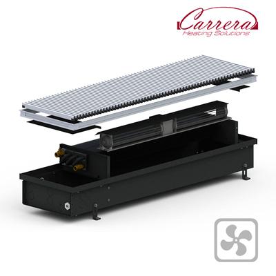 Конвектор внутрипольный Carrera 4SV2 Black 295x2500x120
