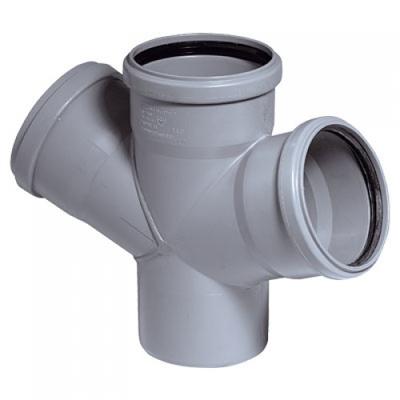 Цена - Крестовина канализационная Ostendorf HT внутренняя 67° 75/75/75 мм