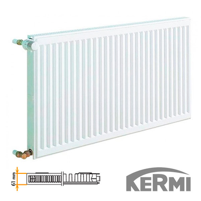 Стальной радиатор Kermi FKO Тип 11 600x1300 1774W (боковое подключение)