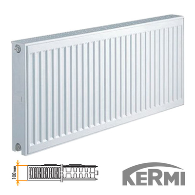 Стальной радиатор Kermi FKO Тип 22 400x1000 1605W (боковое подключение)