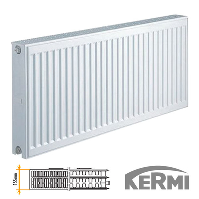 Стальной радиатор Kermi FKO Тип 33 600x1100 3535W (боковое подключение)