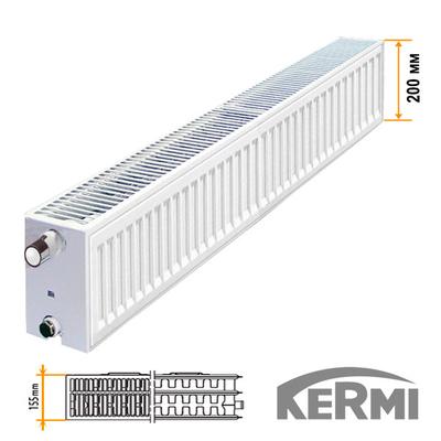 Радиатор Kermi  с боковым подкл. FK0 тип 33 200x600 811W