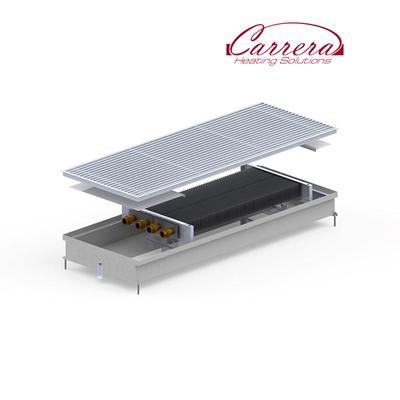 Конвектор внутрипольный Carrera S2 Inox 380х1500х90