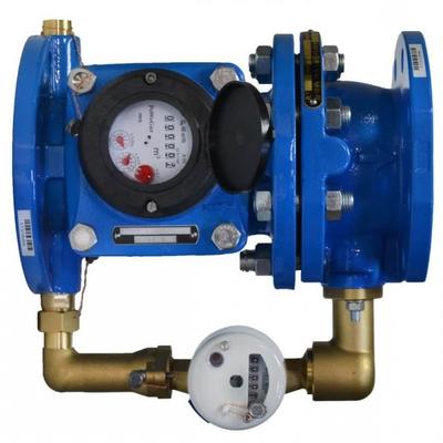 КомбинирКомбинированный счетчик холодной воды Apator Powogaz MWN/JS-50/4-S (Ду50)ованный счетчик воды Apator Powogaz MWN/JS-50/4-S