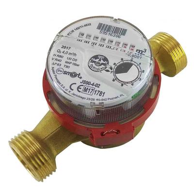Фото Счетчик для воды Apator Powogaz JS90-4 ГВ Smart+ | без штуцеров