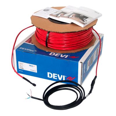 Фото Нагревательный кабель DEVIflex 6T двухжильный   70 м