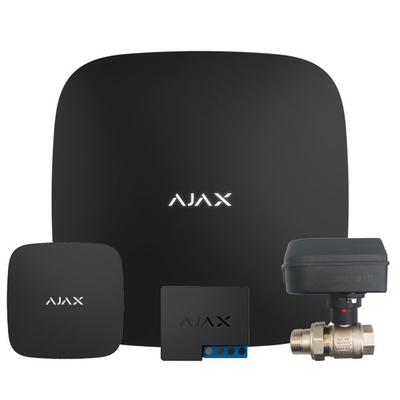 Цена - Стартовый комплект защиты от протечки Ajax Hub (черный) + Honeywell HAV 20