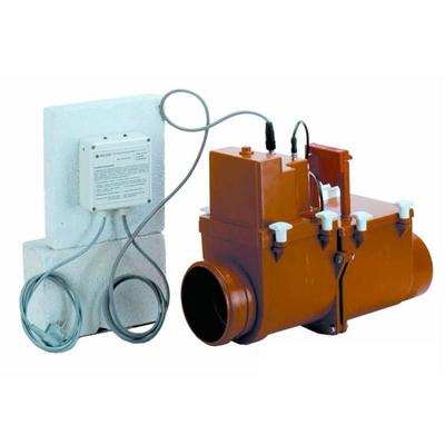 Канализационный затвор HL710.2EPC DN 110 с электроприводом