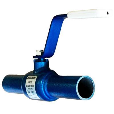 Кран шаровый стальной приварной Interval Ду 80 Ру 25 КШ.П.080.025.СП.002