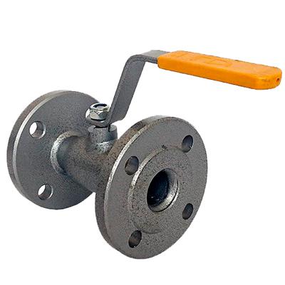 Кран шаровый стальной фланцевый LD стандартнопрходной зауженный
