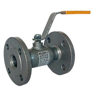 Кран шаровый стальной фланцевый LD ДУ 100/80 РУ 16 (стандартнопроходной)