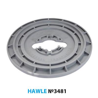 Опорная плита Hawle 3481 для задвижек и вентилей