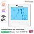Терморегулятор для теплого пола Mycond Wireless Touch MC-HWT-W | белый