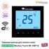 Терморегулятор для теплого пола Mycond Wireless Touch MC-HWT-B | черный